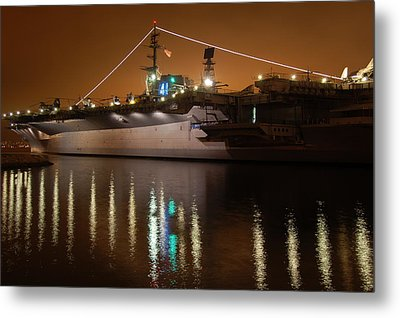 Uss Midway Metal Print by Kelly Wade