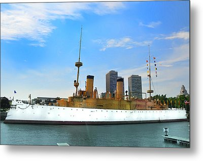 Uss Olympia Metal Print by Bill Cannon