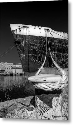 Uss United States Metal Print by Marvin Spates
