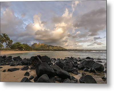 Usual Day In Kauai Metal Print