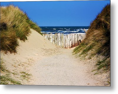 Utah Beach Normandy France Metal Print