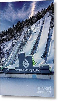 Utah Olympic Park Metal Print