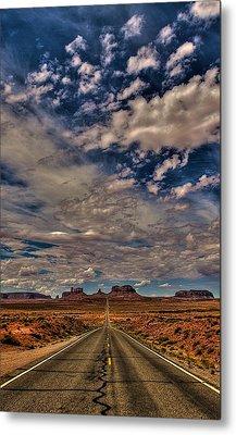 Utah Road Metal Print