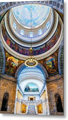 Utah State Capitol Rotunda #2 Metal Print