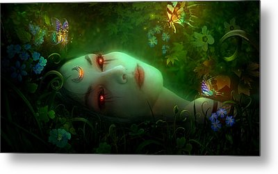 Utherworlds Aadyasha Metal Print by Philip Straub