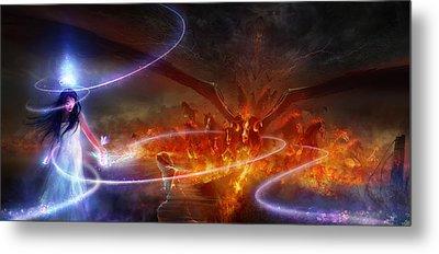 Utherworlds Waking Dream Metal Print by Philip Straub