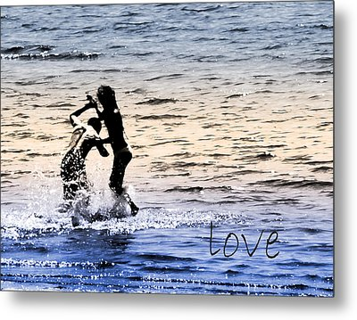 V3-come Out And Play Metal Print by Barbara  White