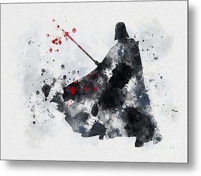 Vader Metal Print by Rebecca Jenkins