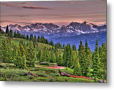 Vail View Metal Print by Scott Mahon