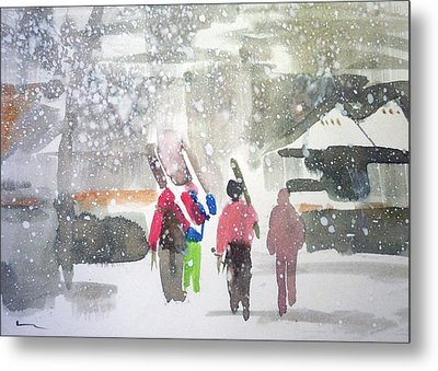 Vail,colorado  Metal Print