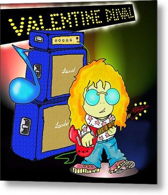 Valentine Duval Metal Print