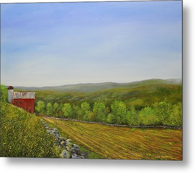 Valley Farm Metal Print