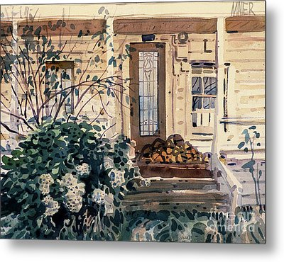 Valley Ford House Metal Print