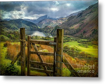 Valley Gate Metal Print
