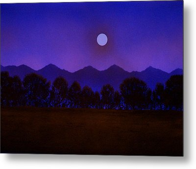 Valley Light Metal Print by Frank Wilson