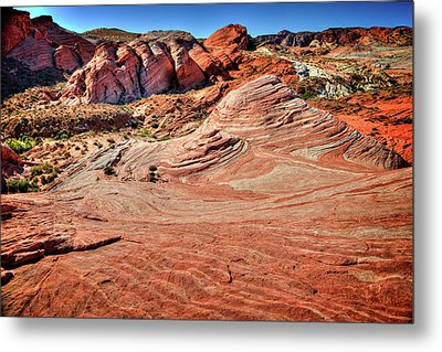 Valley Of Fire State Park Nevada Metal Print by James Hammond