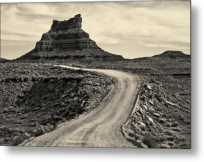 Metal Print featuring the photograph Valley Of The Gods IIi Toned by David Gordon