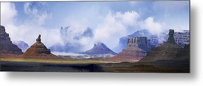 Valley Of The Gods Metal Print by Leland D Howard