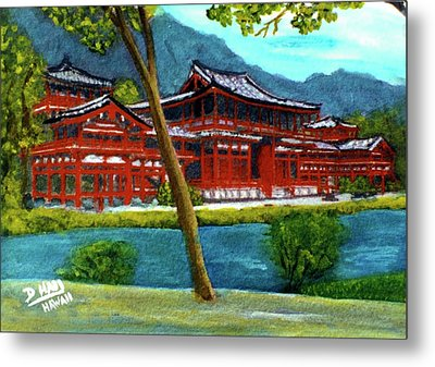 Valley Of The Temples Buddhist Temple #73 Metal Print by Donald k Hall