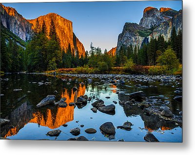 Valley View Yosemite National Park Metal Print