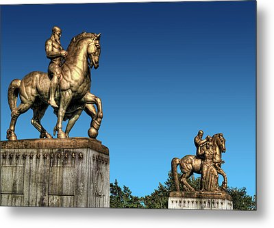 Valor And Sacrifice Metal Print