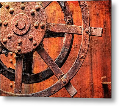 Valve Control Sloss Metal Print by Phillip Burrow