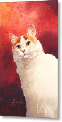 Van Cat Metal Print by John Francis