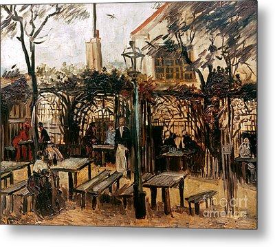 Van Gogh: Guingette, 1886 Metal Print by Granger