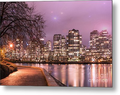 Metal Print featuring the photograph Vancouver, Canada by Juli Scalzi