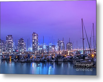 Metal Print featuring the photograph Vancouver by Juli Scalzi