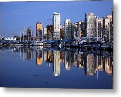 Vancouver Skyline Metal Print by Alasdair Turner