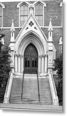 Vanderbilt University Kirkland Hall Entrance Metal Print