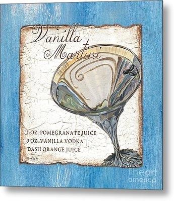 Vanilla Martini Metal Print by Debbie DeWitt