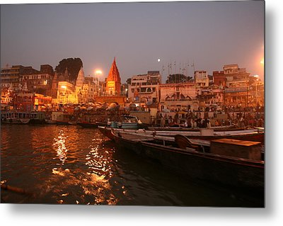 Metal Print featuring the photograph Varanasi by Andrei Fried