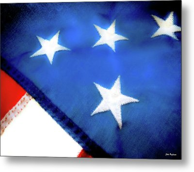 Variations On Old Glory No.6 Metal Print by John Pagliuca
