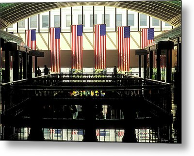Variations On Old Glory No.8 Metal Print by John Pagliuca