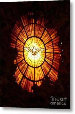Vatican Window Metal Print by Carol Groenen