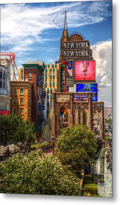 Vegas Baby Metal Print by James Marvin Phelps