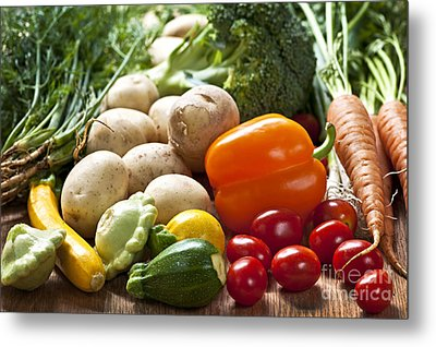 Vegetables Metal Print by Elena Elisseeva