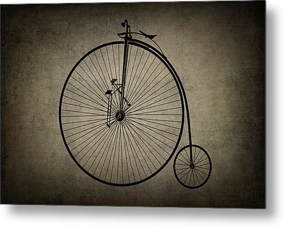 Velocipede Metal Print by Daniel Hagerman