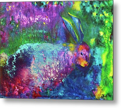 Velveteen Rabbit Metal Print