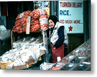Metal Print featuring the photograph Vendor by Douglas Pike
