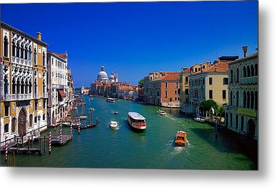 Metal Print featuring the photograph Venetian Highway by Anne Kotan