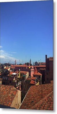Metal Print featuring the photograph Venetian Skyline by Anne Kotan
