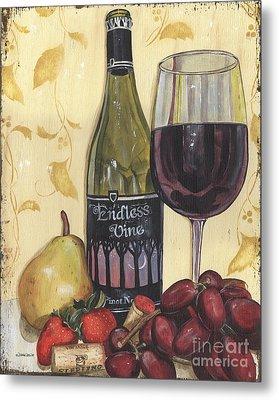Veneto Pinot Noir Metal Print by Debbie DeWitt