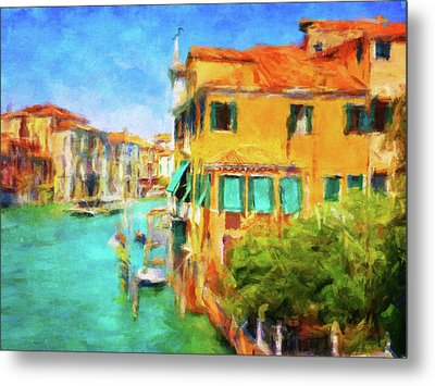 Metal Print featuring the photograph Venezia Afternoon by Connie Handscomb