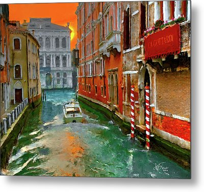 Metal Print featuring the photograph Venezia. Ca'gottardi by Juan Carlos Ferro Duque