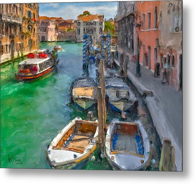 Metal Print featuring the photograph Venezia. Cannaregio by Juan Carlos Ferro Duque
