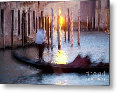 Venice Blue Hour 1 Metal Print by Heiko Koehrer-Wagner