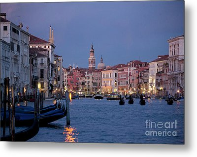 Venice Blue Hour 2 Metal Print by Heiko Koehrer-Wagner